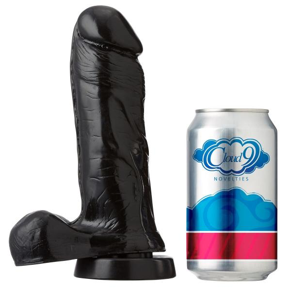 Cloud 9 Dong Thick Balls 7 inches Black