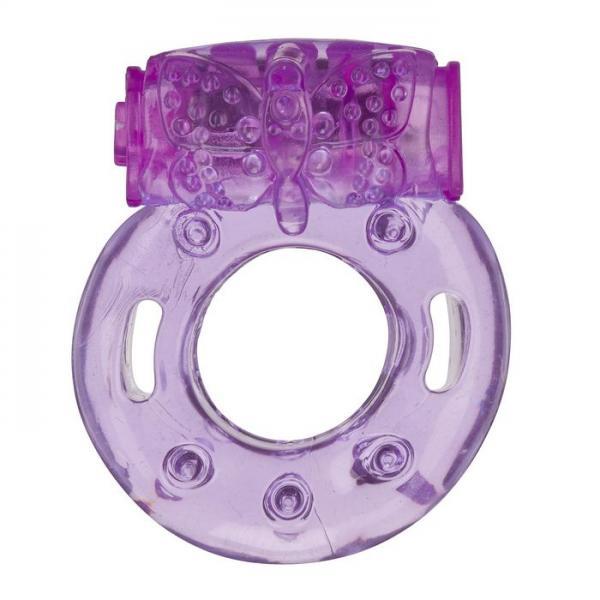 Cloud 9 Pleasure Tickler 1 Speed Ring Purple
