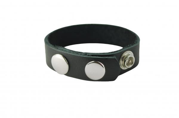 Original Oiltan Cock Ring Leather Black