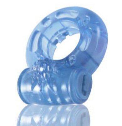 Reusable Vibrating C-Ring - Blue