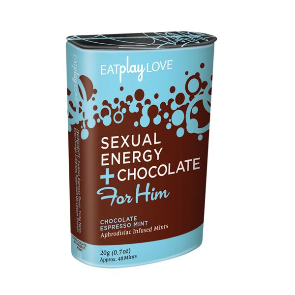 Sexual Energy Chocolate Espresso Mint For Him