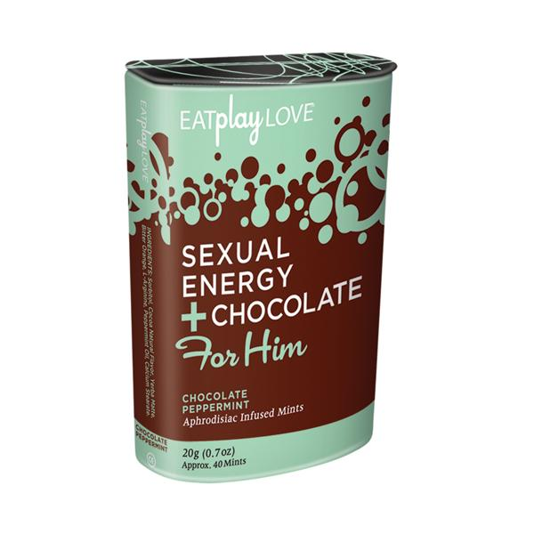 Sexual Energy Plus Chocolate Peppermint For Him