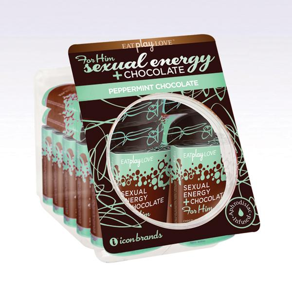 For Him Sexual Energy Chocolate Peppermint Fishbowl