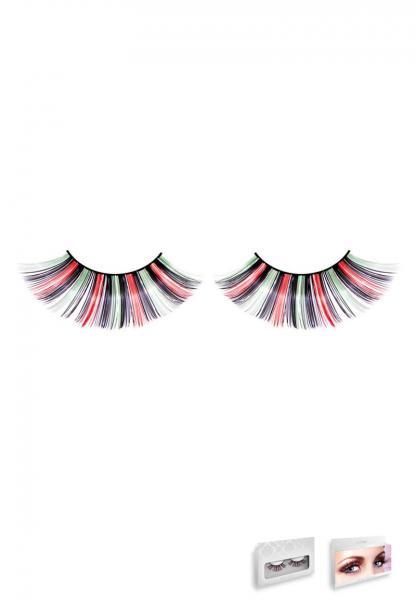 Multi Colored Glitter Eyelashes Style 543