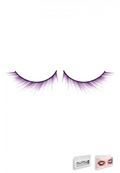 Purple Deluxe Eyelashes