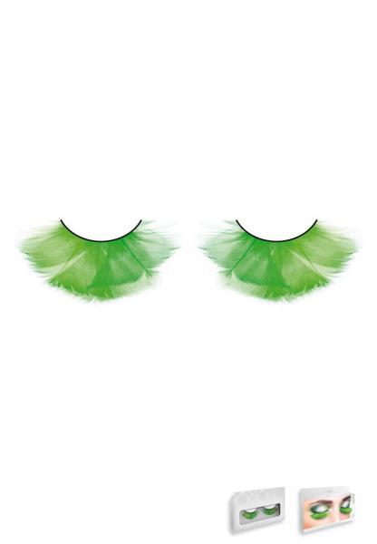 Multi Colored Feather Eyelashes Style 620