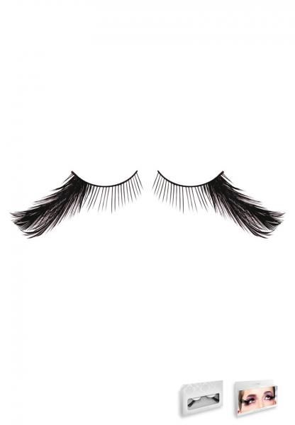 Black Feather Eyelashes Style 642