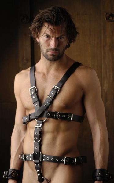 Bondage harness male