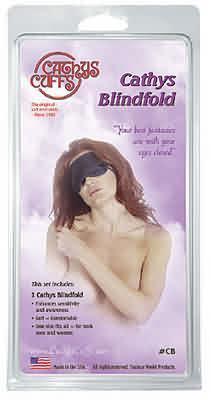 Cathy's Blindfold Black