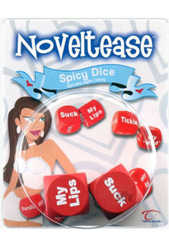 Noveltease Sex Dice