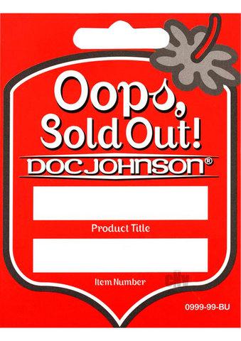 Doc Johnson Reorder Tags