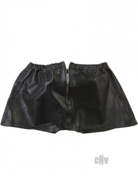 Rapture Male Leather Shorts Lg