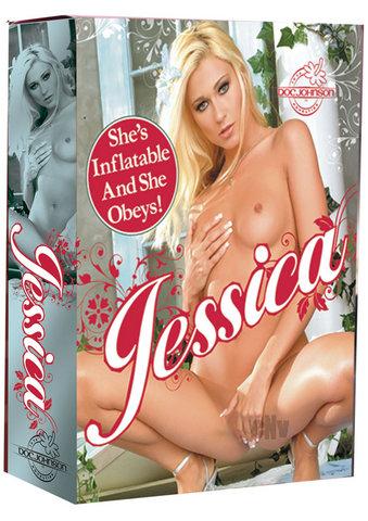 Jessica 3-hole Doll Blonde