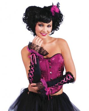 Burlesque sleevelete
