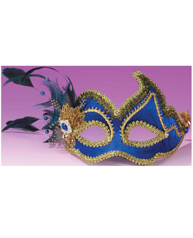 Fancy Mask Blue O/S