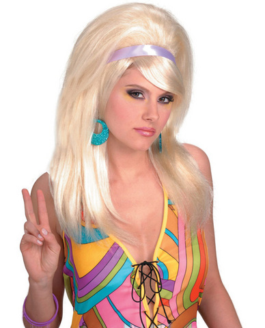 60's mod wig - blonde
