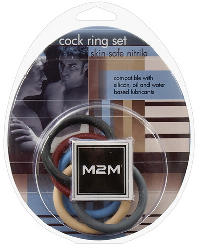 M2m Nitrile C Rings  1.5in - pack of 5 asst