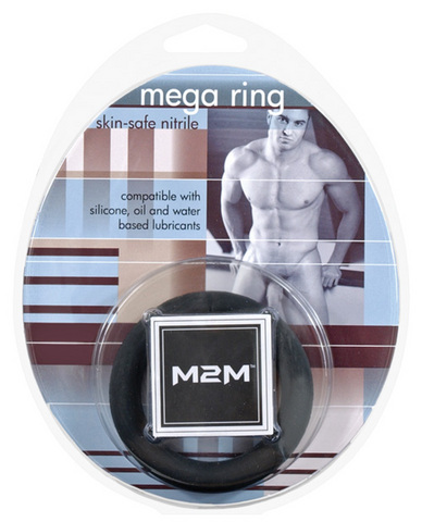 M2m mega nitrile c-ring - medium black