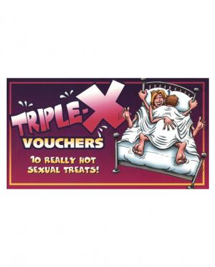 XXX Voucher Coupon Book