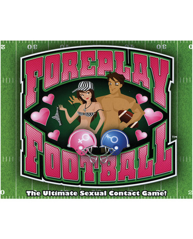 Foreplay football board game