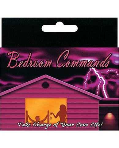 Bedroom Commands Card Game