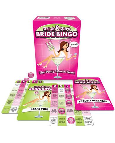 Drink and Dare Bride Bingo