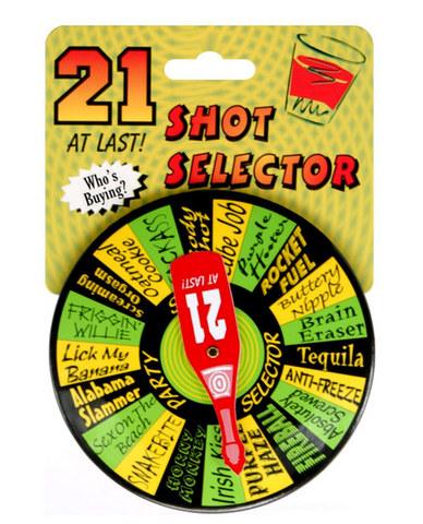 21 shot selector game