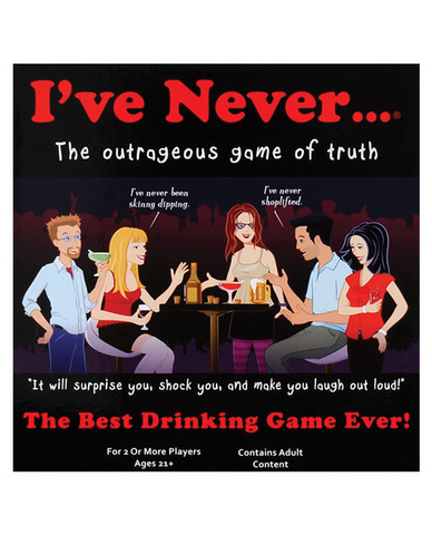 I've never...? drinking game