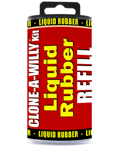 Clone-a-willy liquid rubber refill - light tone