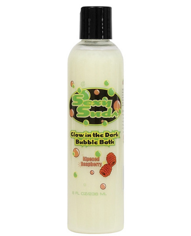 Sexy suds glow in the dark bubble bath - raspberry