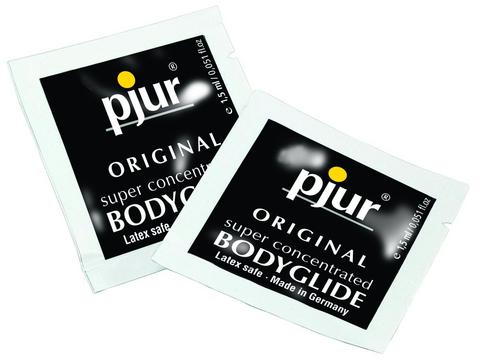 Pjur bodyglide 50 foil packs - 1.5 ml each