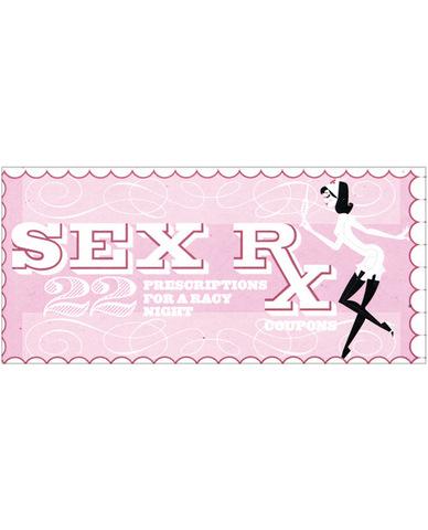 Sex rx coupons book