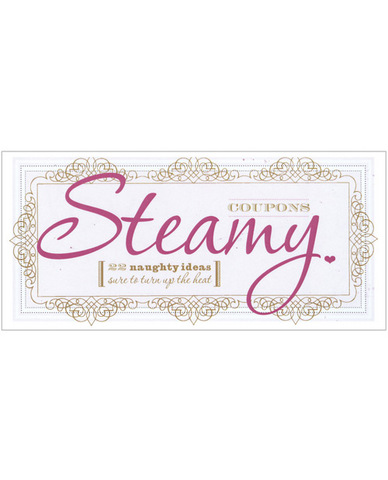 Steamy coupons book