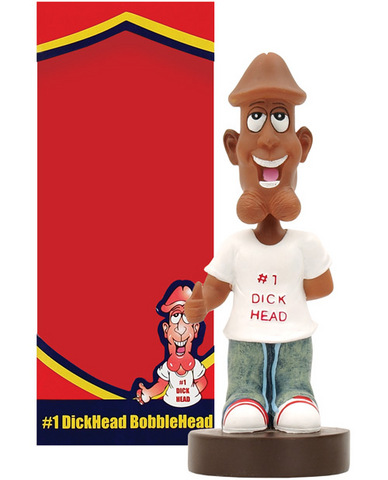 Dickhead bobblehead doll - black