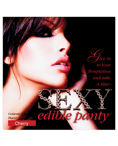 Sexy edible panty - cherry