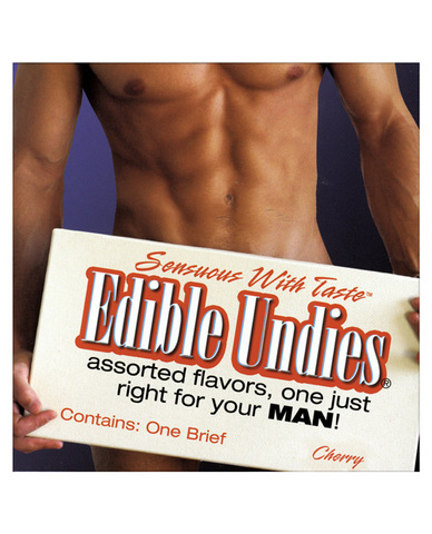 Edible Undies for Men Cherry