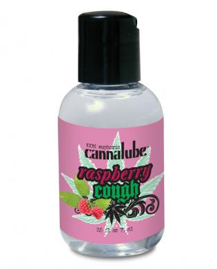 Cannalube Raspberry Flavored Lubricant 2.5oz