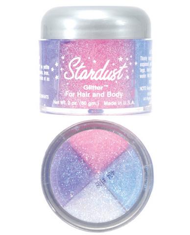 Pastel body glitter 4 color - 2 oz