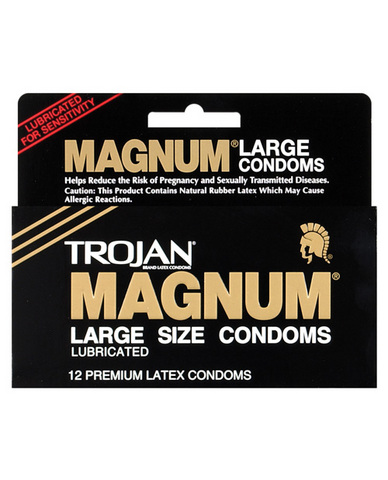 Trojan magnum (12 pack)