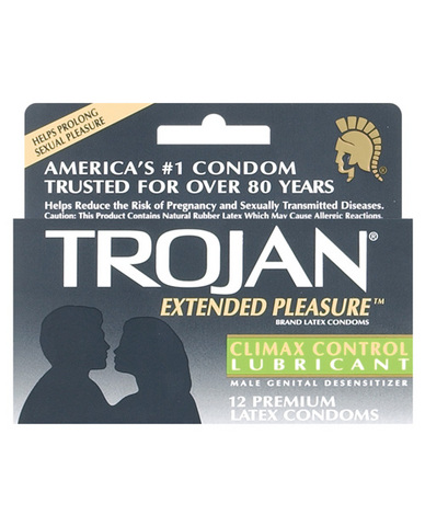 Trojan extend pleasure (12pack)