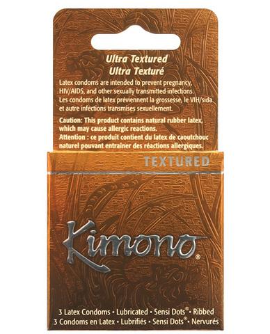 Kimono type-e condom - box of 3