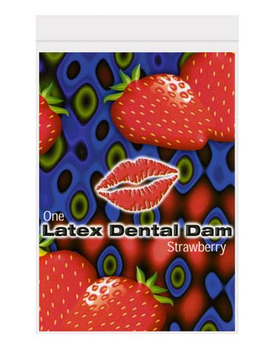 Latex Dental Dam Strawberry