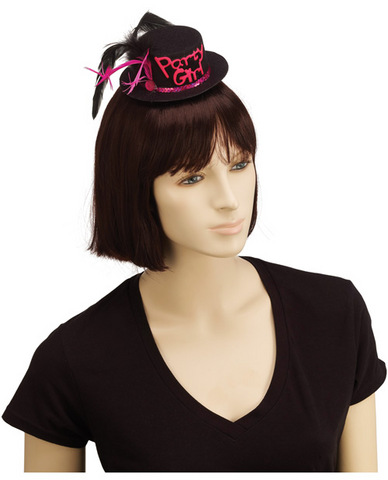 Party girl mine hat hair clip