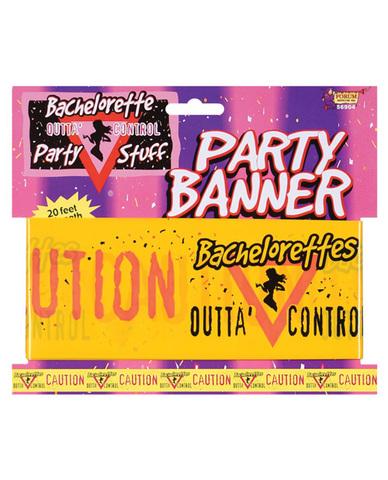 Bachelorette party banner 20ft