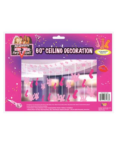 Bachelorette ceiling decoration