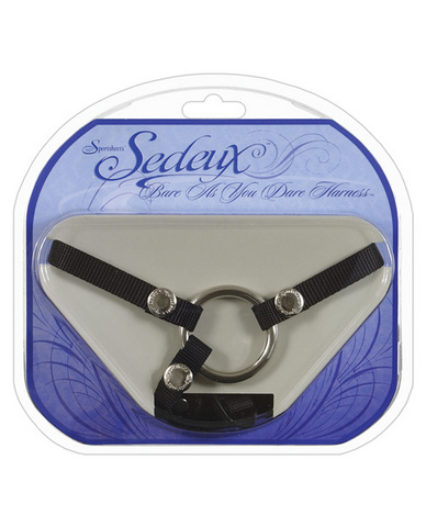 Bare As You Dare Strap-On Harness