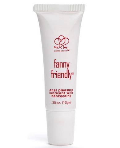 Fanny Friendly Anal Pleasure Lubricant With Benzocaine .35 oz - Strawberry