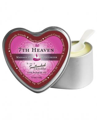Earthly body 3 in 1 candle - 4oz 7th heaven