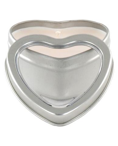 Mini heart pheromone candle vanilla