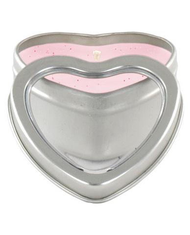 Mini heart pheromone candle lavender vanilla